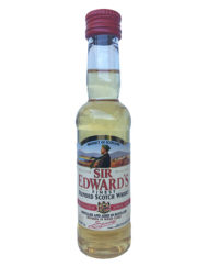 botella de whisky sir edwards finest scotch edicion miniatura