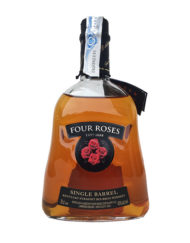 Botella de whisky bourbon Four Roses Single Barrel