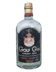 Botella ginebra Golf Gin
